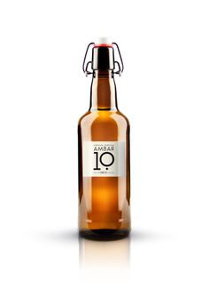 Ambar 10 beer / designed by Estudio Versus