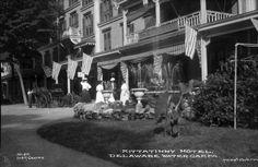 Kittatinny Hotel, Delaware Water Gap | Photograph | Wisconsin Historical Society