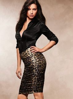 Adriana Lima Perfect look fashion style