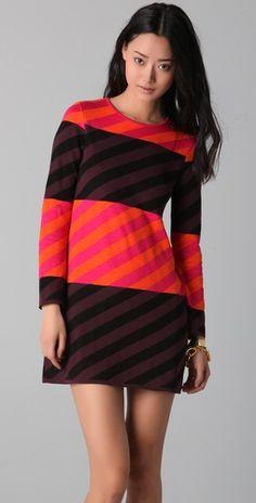 so fun!  love all the stripes!