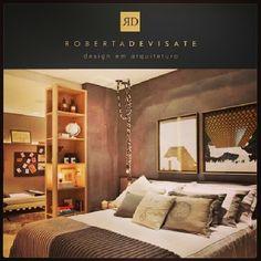 Apartamento do Hóspede  - Casa Cor Rio de Janeiro 2013 - Roberta Devisate Design em Arquitetura Cards