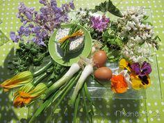 Un menu complet : recettes de cuisine à base de fleurs ! #MIAM #Recette #MariusandCo
