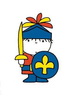 Posters Daan als ridder Dick Bruna PS264 Spellen, Posters, Mensen, Tekeningen, Kinderboek Illustratoren, Kinderen, Kinderboekenillustraties, Illustraties,