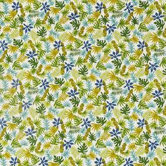 Prestigious Textiles Dell Zest Fabric - - Pick n mix Collection Garden Cushions, Scatter Cushions, Roman Blinds, Curtains With Blinds, Prestigious Textiles, Tablecloth Fabric, Mood Light, Pick And Mix, Novelty Print
