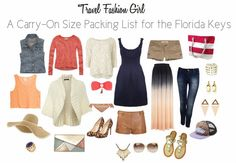 10 item wardrobe for packing for florida