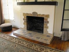 Good Home Construction's Renovation Blog: New Tile Fireplace for a 1920's Spanish Revival Bungalow
