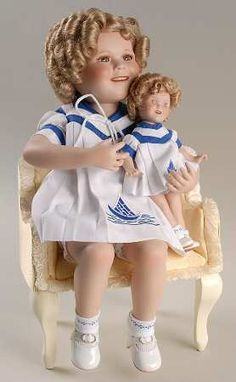 """""""Sailor Girls -No Box in the Shirley Temple Dolls pattern by Danbury Mint"""" via http://www.replacements.com/webquote/CO_DBMDOLLSHT.htm"""