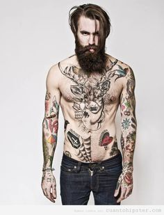 chico-hipster-barba-tatuajes-sexy-o-no.jpg (500×655)