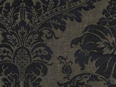 Tissu damassé en lin EPOQUE by Nobilis