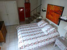 """chambre 5 """"LES ANGES"""" Duplex la suite pour une famille sur 2 niveaux"""