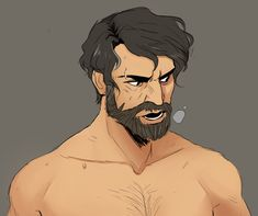 Anime Guy With Beard Google Search Anime Faces Characters