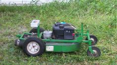 Seven Year-old RC mower
