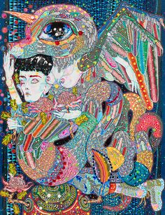 Del Kathryn Barton, Cool Art, Awesome Art, Australian Artists, Les Oeuvres, Google Images, Surrealism, Abstract Art, Artsy