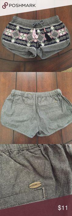 O'Neill flowy printed shorts O'Neill. Printed shorts. Comfy fit. Elastic band around waist NEVER WORN O'Neill Shorts