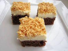 Kokosové řezy Krispie Treats, Rice Krispies, Nutella, Tiramisu, Cheesecake, Coconut, Ethnic Recipes, Desserts, Food