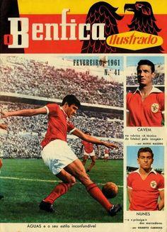 Benfica ilustrado via http://footballarchive.tumblr.com/