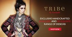 Tribe by Amrapali, an exquisite range of handcrafted jewellery online. Shop Now