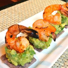Mom, What's For Dinner?: Spicy Prawns with Zesty Avocado Appetizer