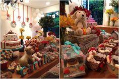 decoracao festa infantil cachorrinhos
