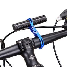 Binmer(TM) 31.8MM Bike Flashlight Holder Handle Bar Bicycle Accessories Extender Mount (Blue). Quantity:1 PC. Components: Handlebar. Clamp Diameter: 22.6 - 25mm. Type: Rest Handlebar/TT Handlebar. Fixed the column diameter 21.2mm / 8.35 inches.