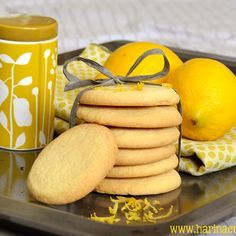 Harina en la Nariz: Galletas de Limón