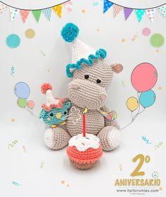Mesmerizing Crochet an Amigurumi Rabbit Ideas. Lovely Crochet an Amigurumi Rabbit Ideas. Crochet Hippo, Cute Crochet, Crochet Animals, Crochet Cats, Crochet Birds, Crochet Food, Crochet Patterns Amigurumi, Amigurumi Doll, Crochet Dolls