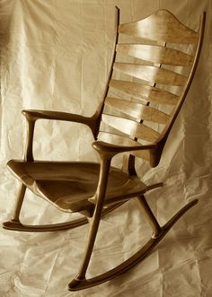 wooden chairs chair design rocking chairs waiata carpentry rockers ...