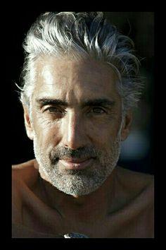 Cabello Canoso Beard Styles Short Haircuts For Men Beard Styles