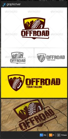 Off Road Logo Templates — Vector EPS #car #adventur • Available here → https://graphicriver.net/item/off-road-logo-templates/7688401?ref=pxcr