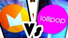 ACTUALITES HIGH-TECH: Android M et Android Lollipop