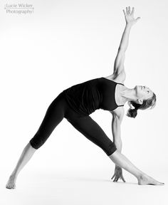 beautiful yoga, triangle pose, B, Lucie Wicker Photography