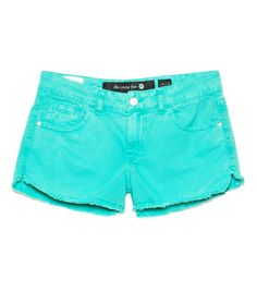 ELLUS - COLOR DENIM (EASY FIT) STONE | Shorts | 2ndFloor Mulheres