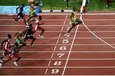 What time is Usain Bolt in the Olympic 100m at London 2012 ...