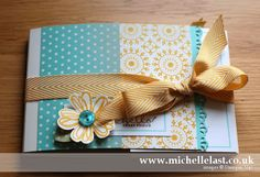 Mini Album using Stampin Up products by Michelle Last   Stampin' Up! Demonstrator Michelle Last