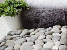 Tutorial DIY: Zrób wycieraczkę z kamieni przez DaWanda.com