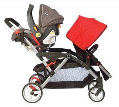 The Contours Options LT Tandem was just named one of the best double strollers of 2012 by iVillage for its easy fold, reversible seats and large storage basket!