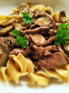 Beef stroganoff- we don't white pasta so I would make this over some kind of wheat noodle. I also would look for beef broth that is MSG free...campbells is loaded- also , corn starch works better than flour if you have it.