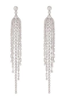 Fine Jewelry Spring 2013 - Simon Teakle's Jewelry Collection - ELLE #DiamondEarrings