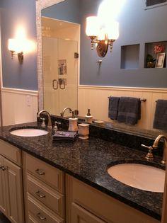 stylish family bath traditional bathroom