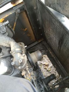 Water Pump replacement on Kobelco excavator at customer location