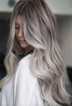 63 Cool Ash Blonde Hair Color Shades: Ash Blonde Hair Dye Kits to Try Ash Blonde Hair Balayage, Beige Blonde Hair Color, Cool Ash Blonde, Beige Hair, Silver Blonde Hair, Dyed Blonde Hair, Blonde Hair Looks, Hair Color Shades, Platinum Blonde