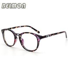 7efee484e2f80 Vintage Eyeglasses Frame Women Computer Optical Glasses Spectacle Retro For  Women s Transparent Female Armacao Oculos de