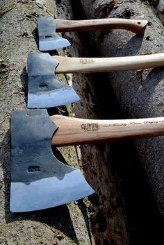 Three axes