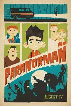 ParaNorman Viral Artwork Vintage Teaser Poster USA 5 #ParaNorman