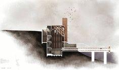 Resultado de imagen de architectural sections presentation