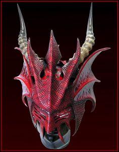 Fetish Dragon Helm by Azmal.deviantart.com on @deviantART