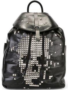 ALEXANDER MCQUEEN Studded Skull Backpack.  alexandermcqueen  bags  leather   backpacks   Leather 41fb45d1bc
