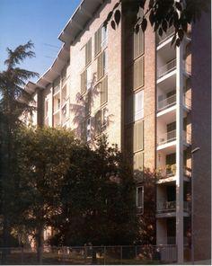 Ignazio Gardella - Casa per impiegati della Borsalino, Alessandria 1952