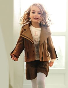 Don't know about all the frippery on the coat, but I like the look overall and it seems wearable in real life for a kid. This might work for mine.