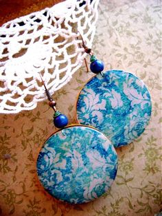 Sunshine with see / gandre - SAShE. Resin, Sunshine, Pendant Necklace, Earrings, Jewelry, Ear Rings, Stud Earrings, Jewlery, Jewerly